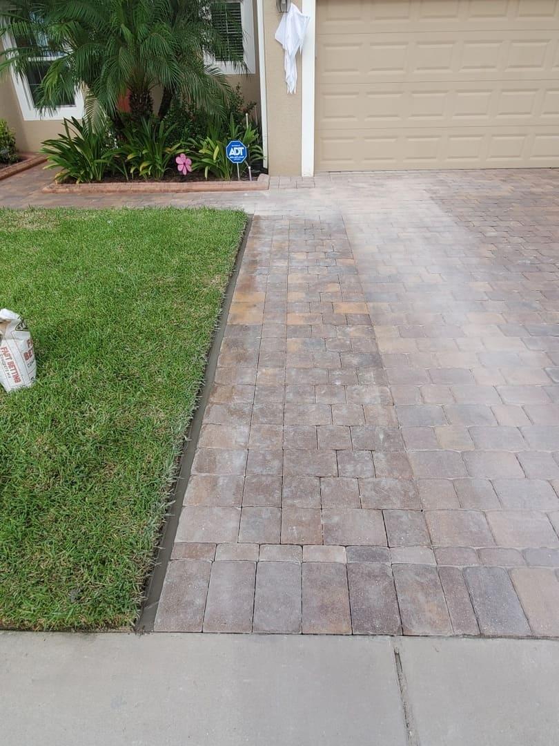new pavement paver repairs
