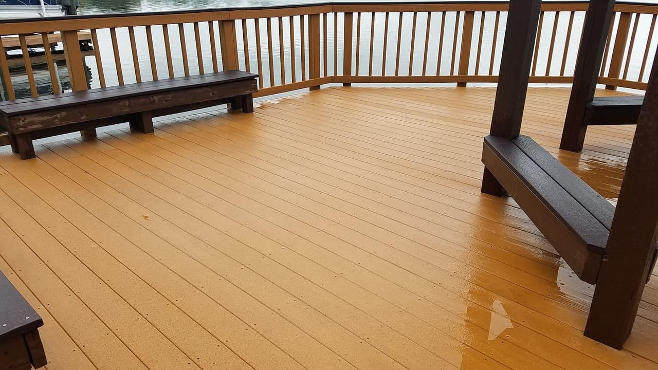 pier floor paver installation
