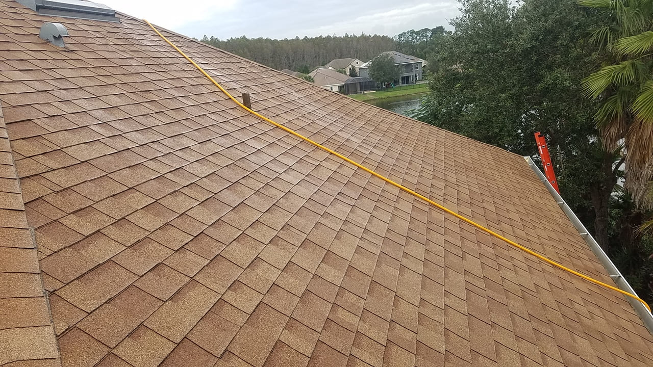 roof after paver sealing