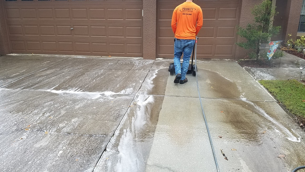washing pavement paver repairs
