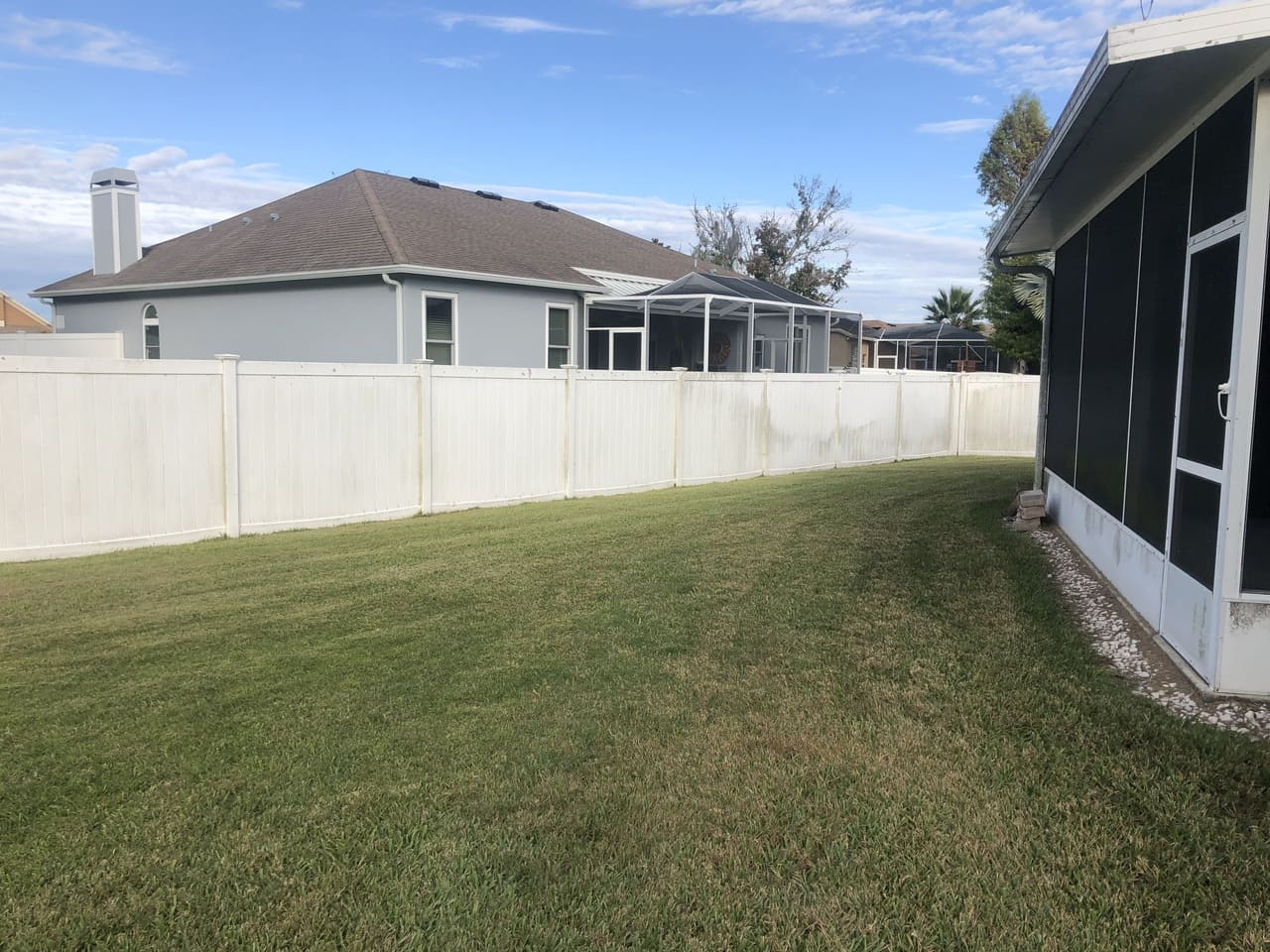 fence house paver sealing