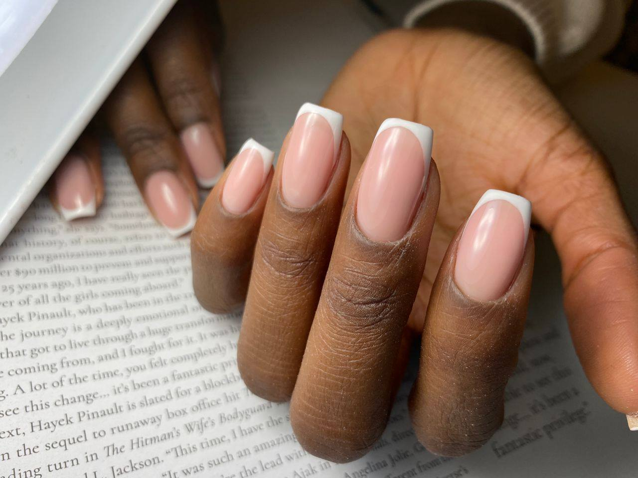 Perfect French Manicure at The Best Nails