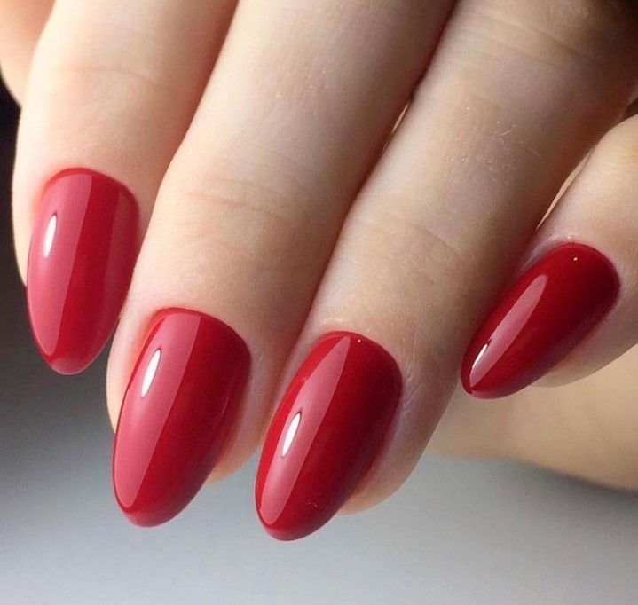 Best Red Nails Manicure