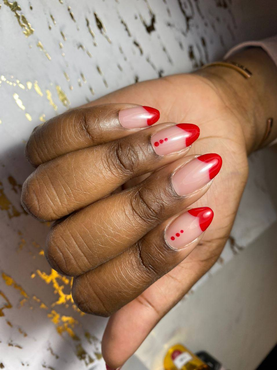 Red Valentine's Day Manicure