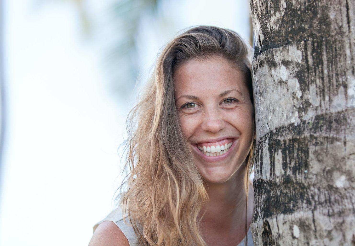 Ayurvedic Practitioner, Kathryn Stoerzbach on Kaua'i.
