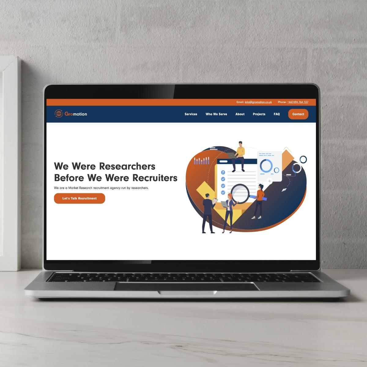 Gromotion Website Image