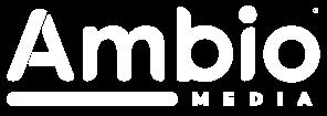 Ambio Media White Logo