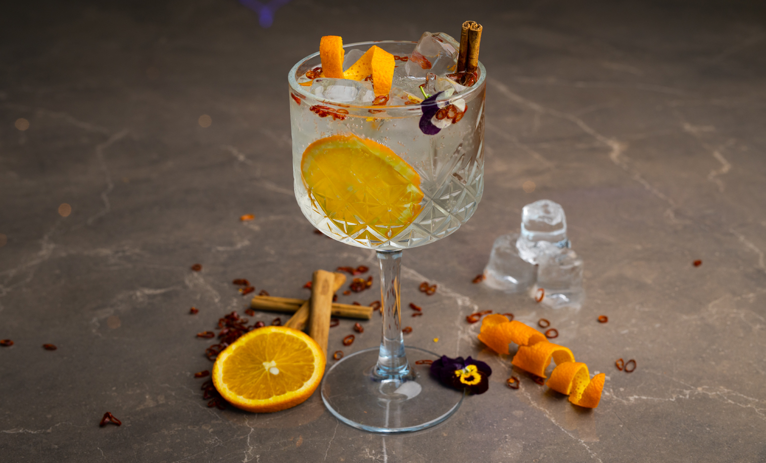 Spicy Gin Tonic