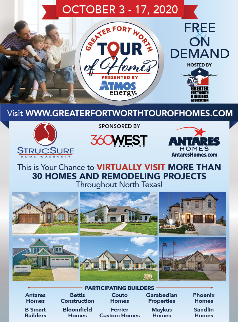 Sponsor Chart for GFWBA Tour of Homes