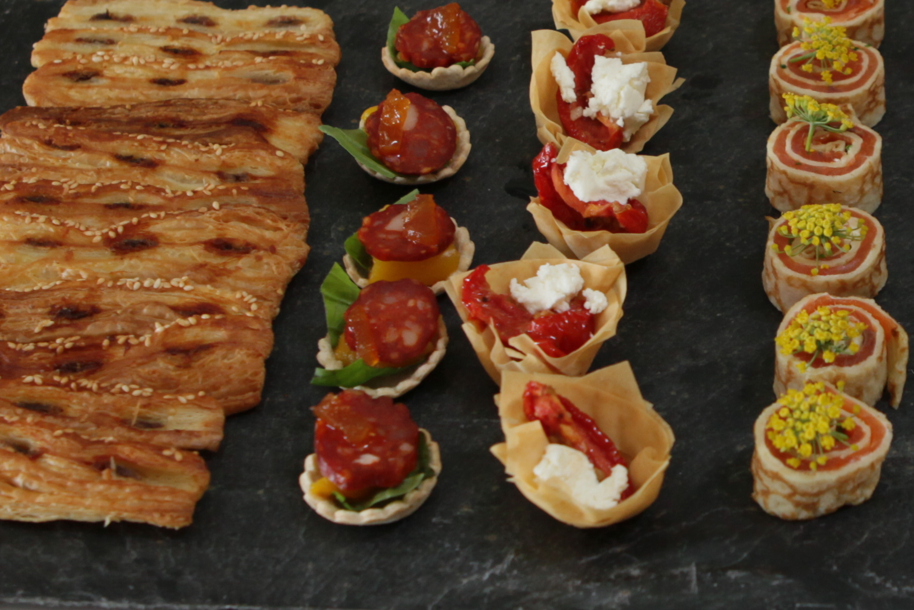 Live Stream - Canapes, Finger Food and Tasty Bites