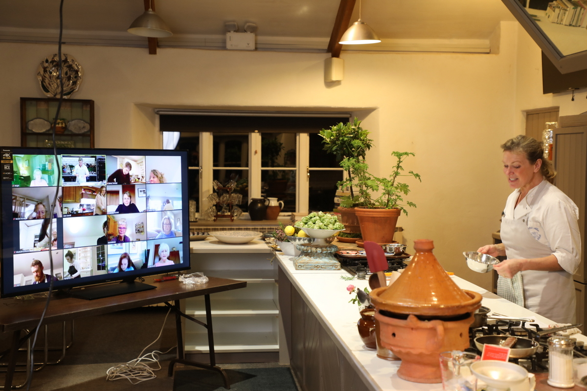 Live Stream - Celebrate St Patrick's Day Cookalongs with Rachel Allen 3 in a row