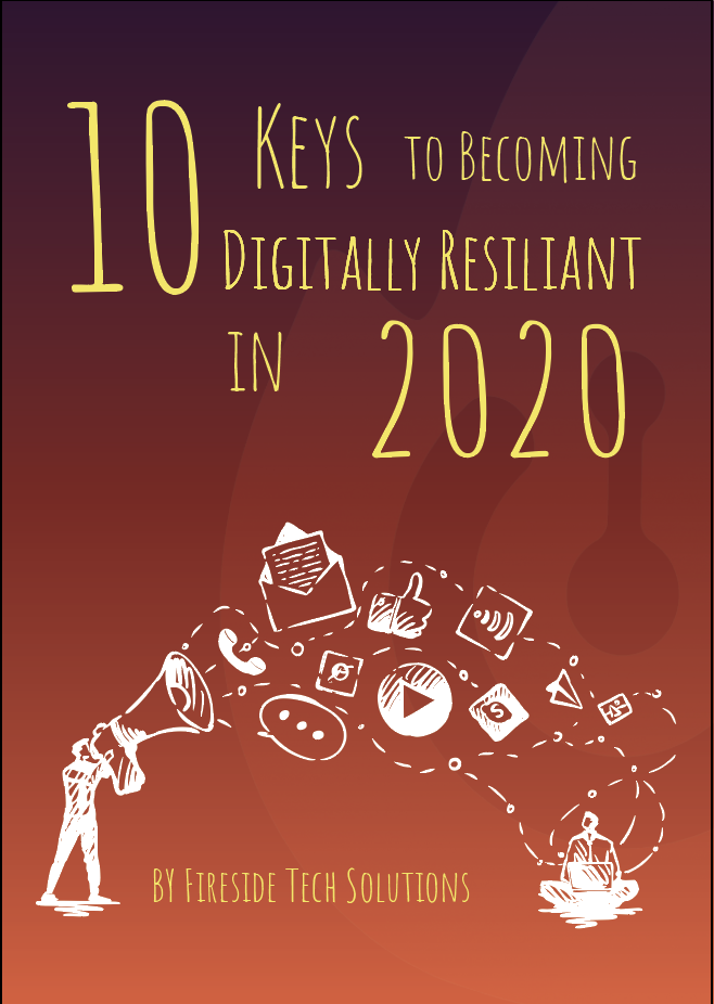 front cover of digitally resilient ebook of 2020