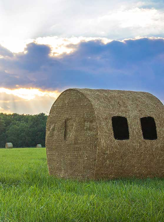 Redneck Blinds Hay Bale Blind