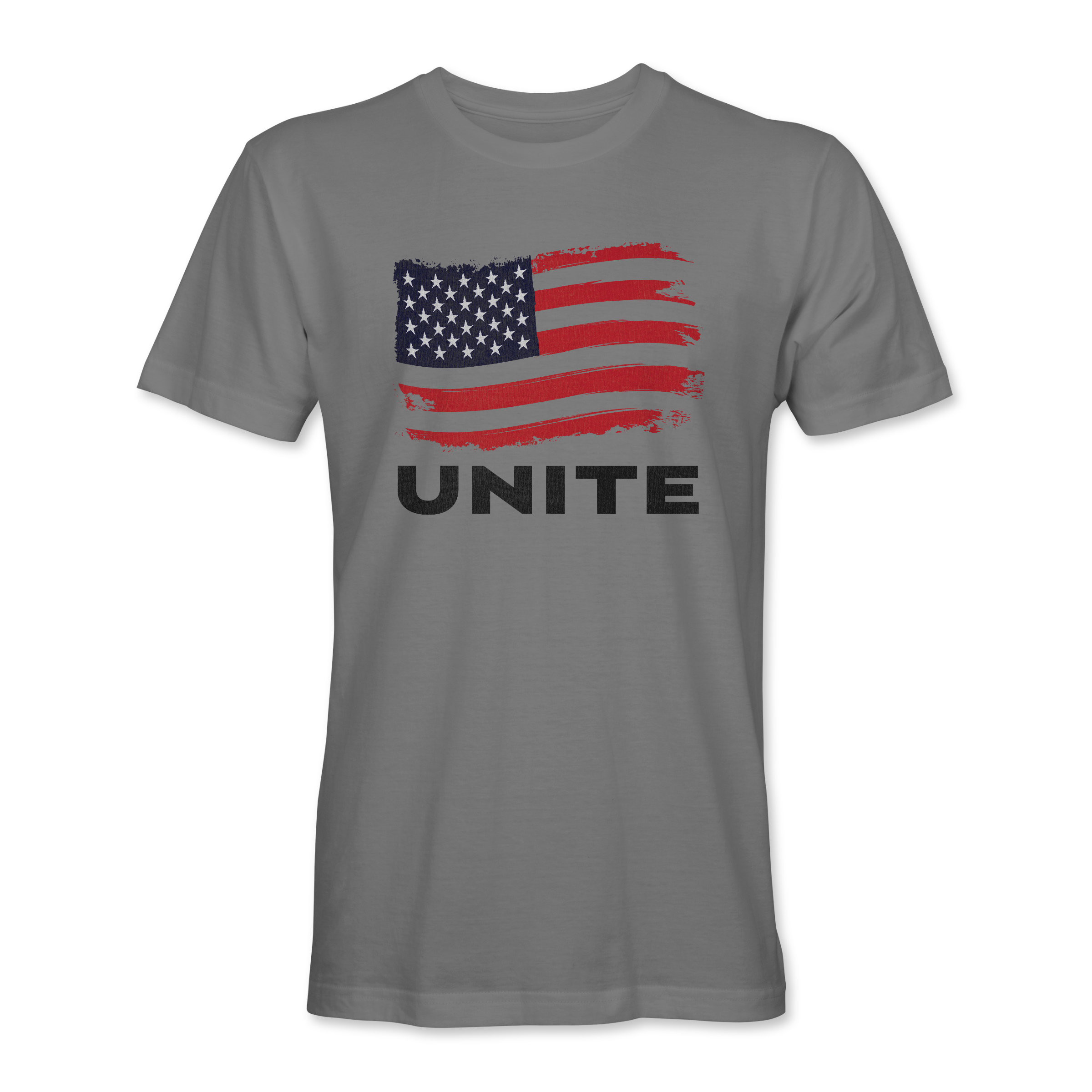Men T-Shirt Unite 2 Gray