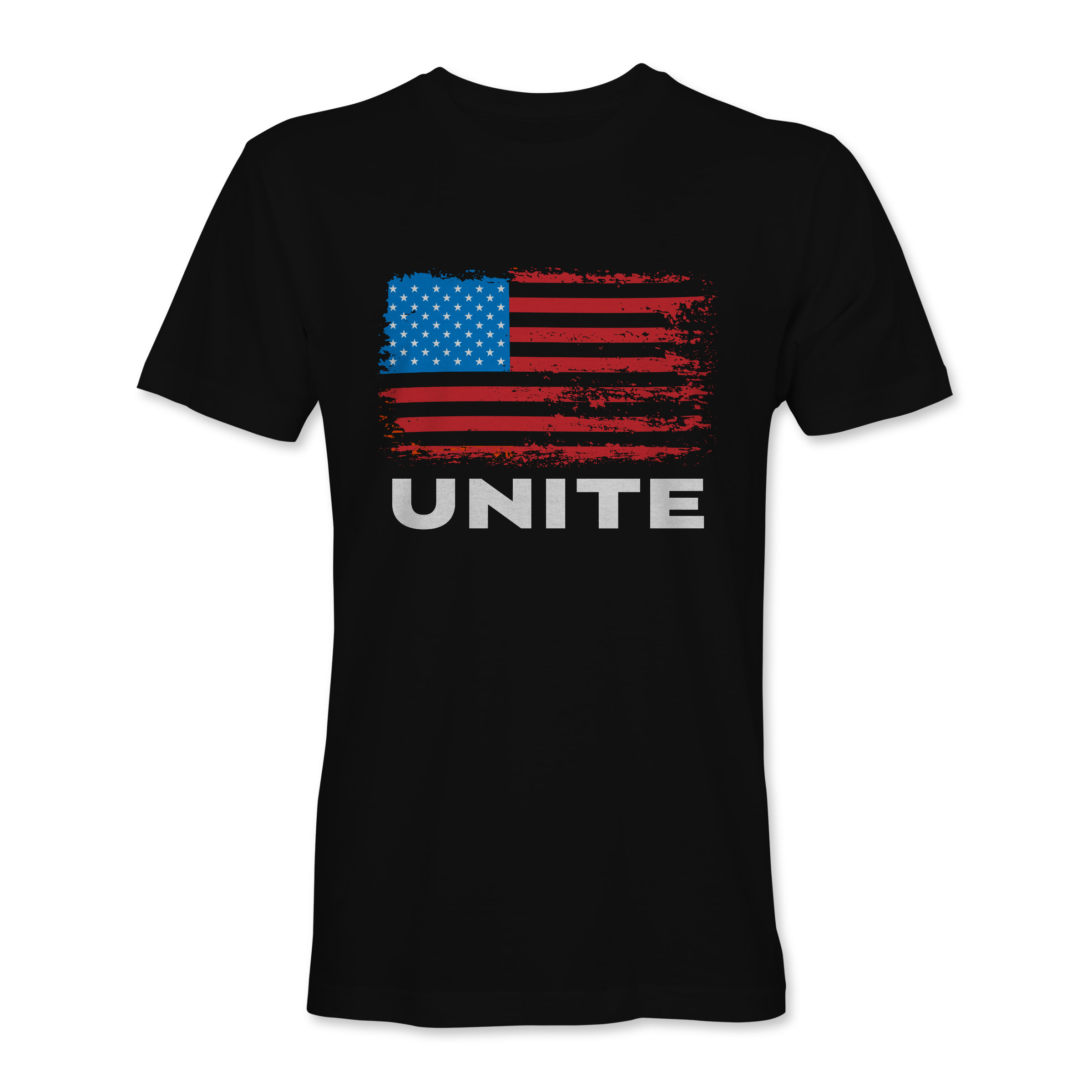 Men T-Shirt Unite Black