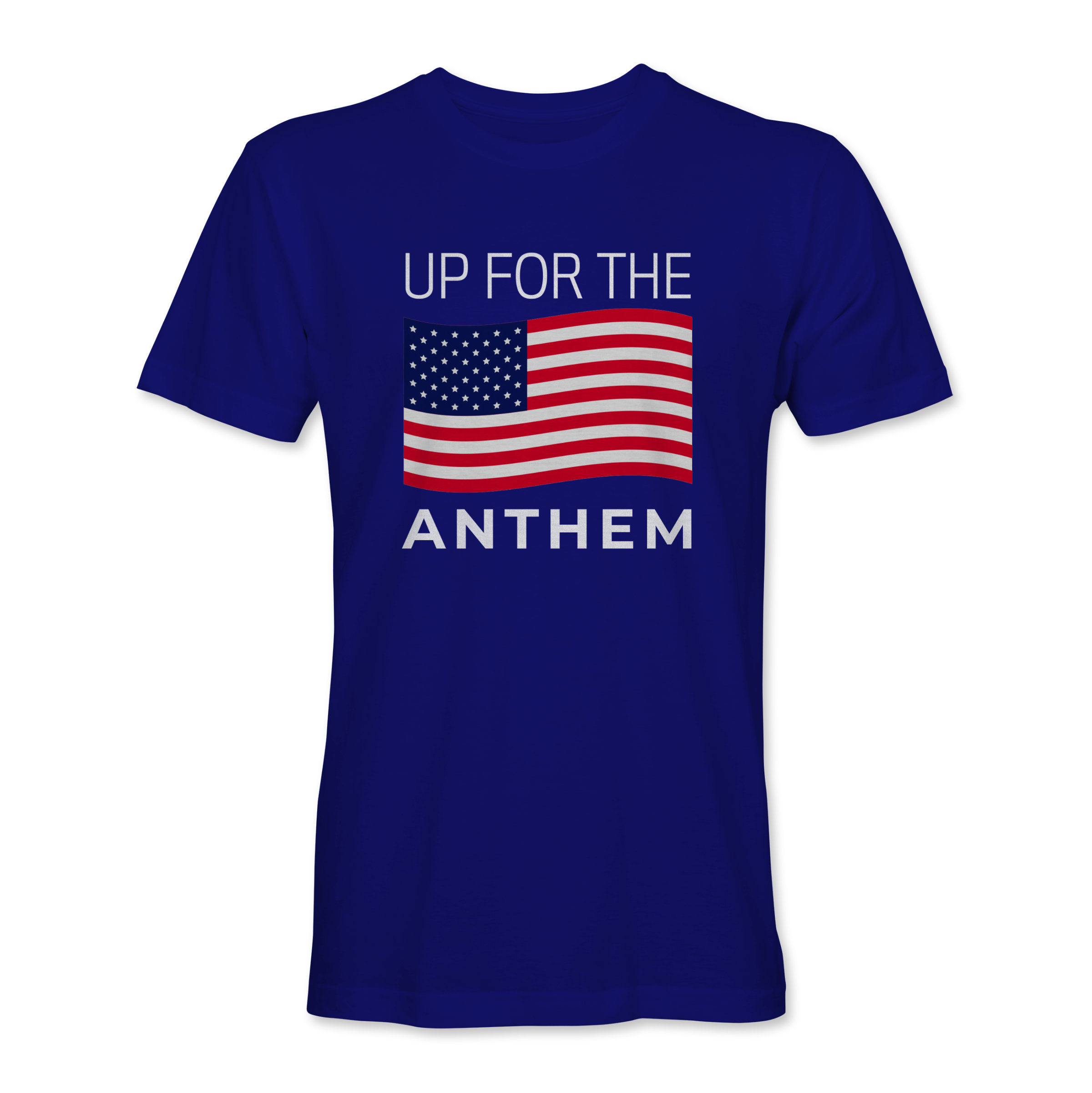 Men T-Shirt Up 4 the Anthem Navy