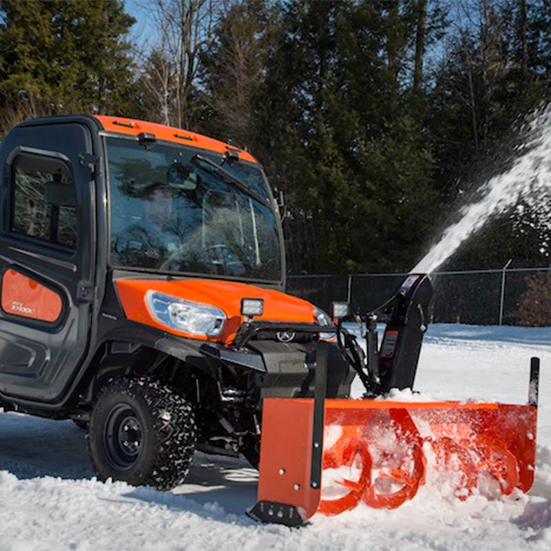 Errington Property Maintenance snow removal