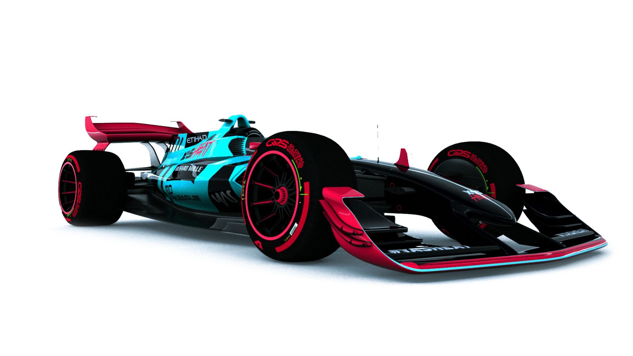 YAS Heat esports car model