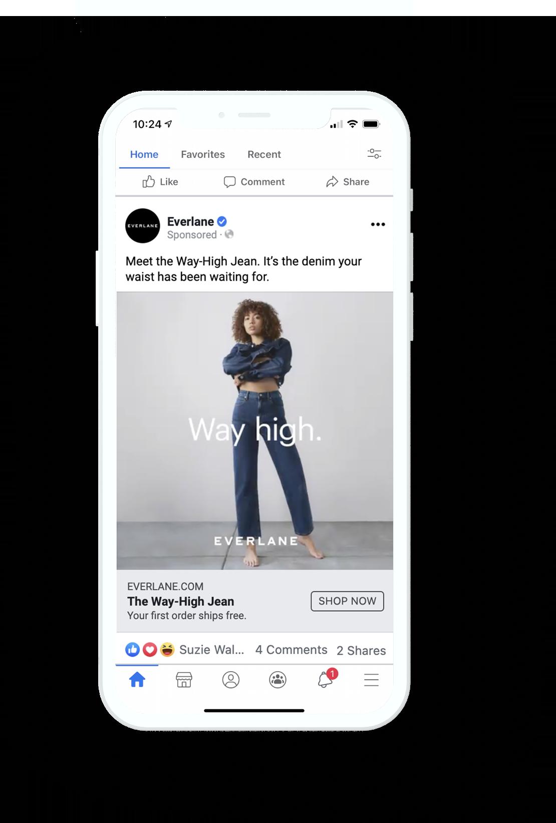 Everlane Facebook Ad