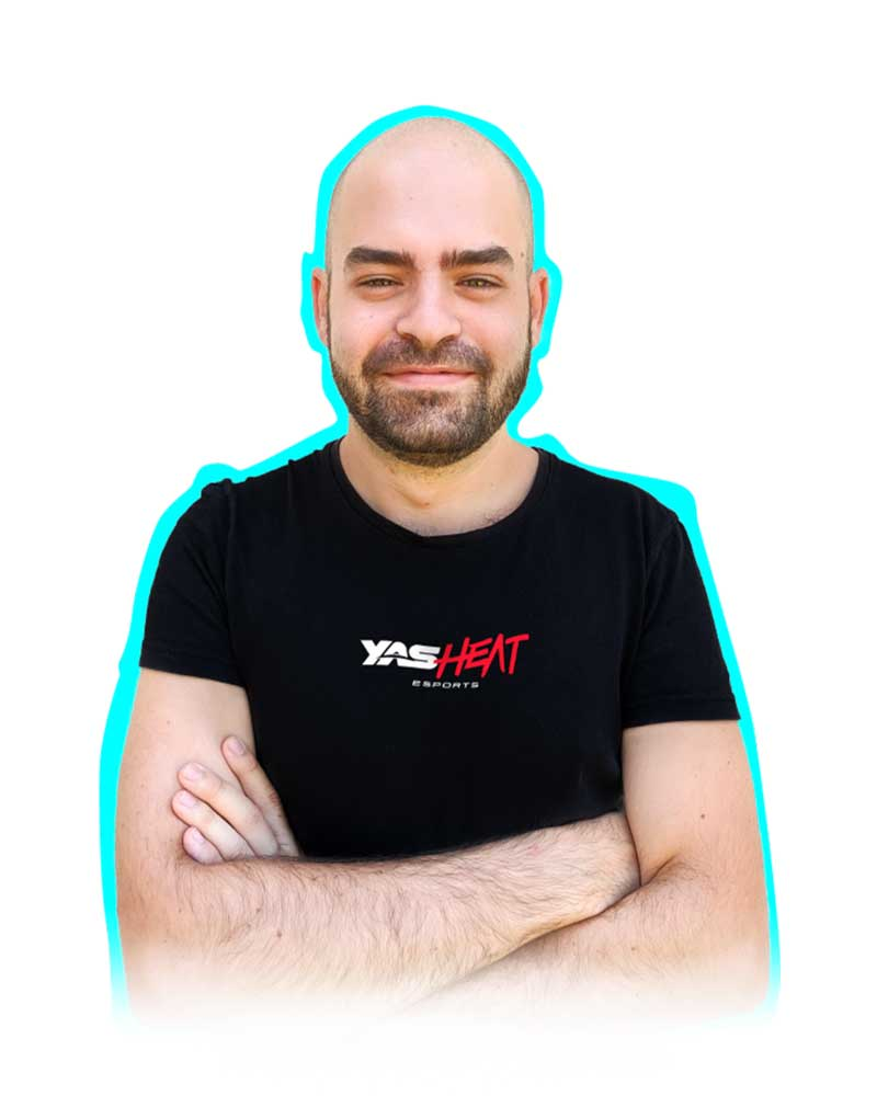 Simone Fedele, YAS Heat esports team player