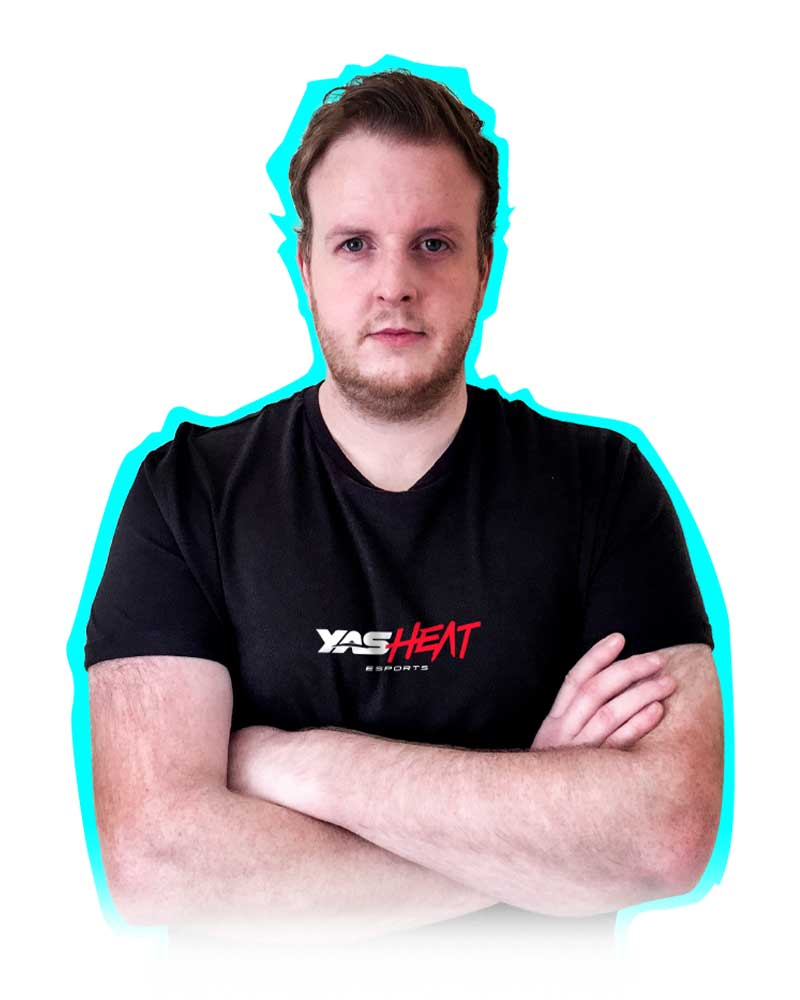 Eamon Murphy, YAS Heat esports team player