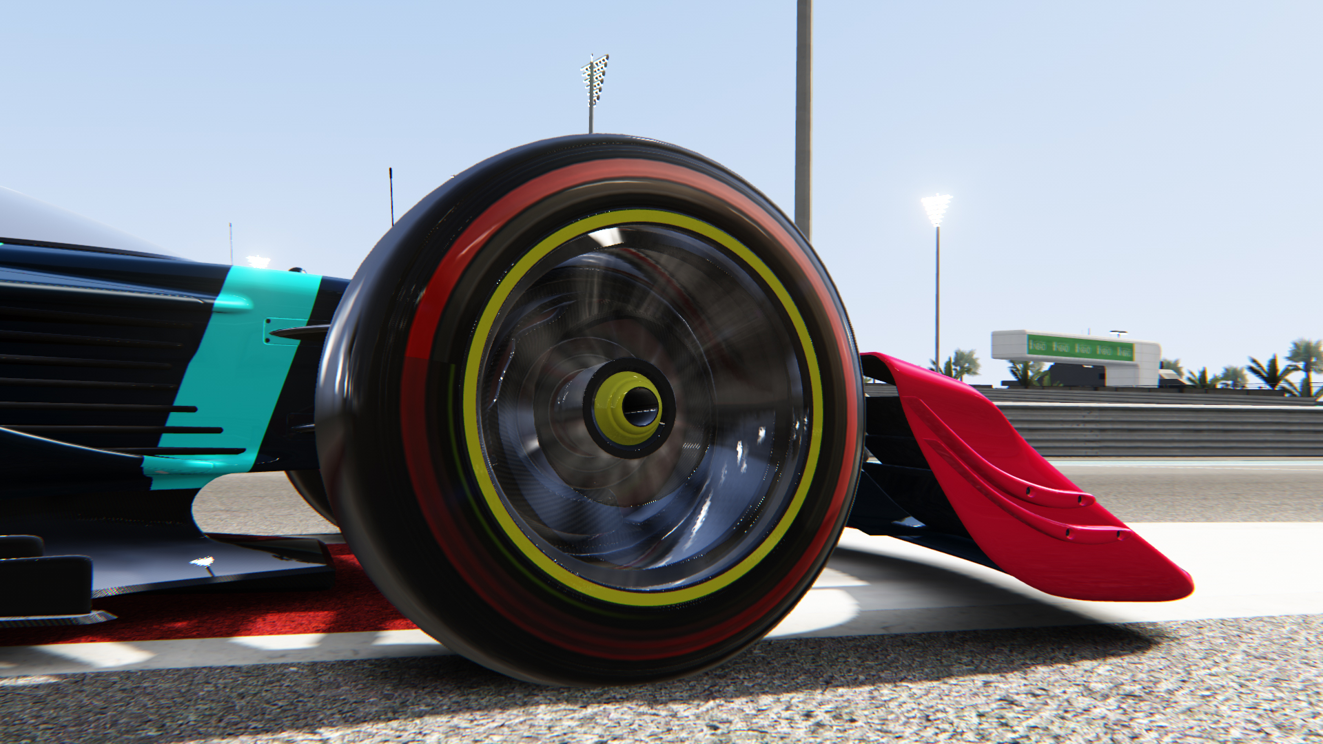 V10 R-League Car Tyre