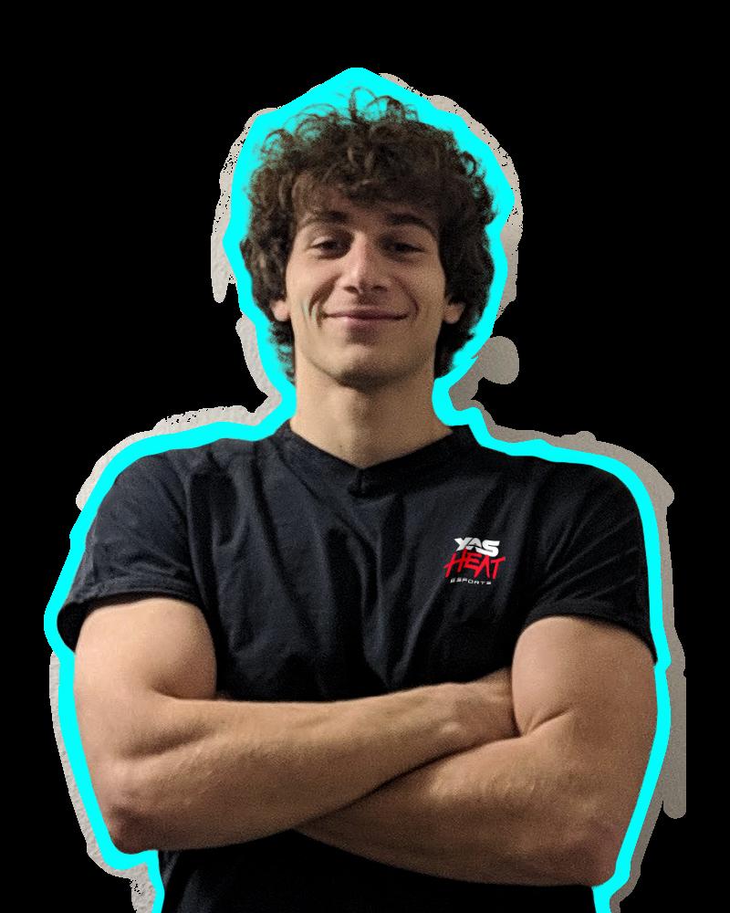 Andrea Capoccia, YAS Heat esports team player