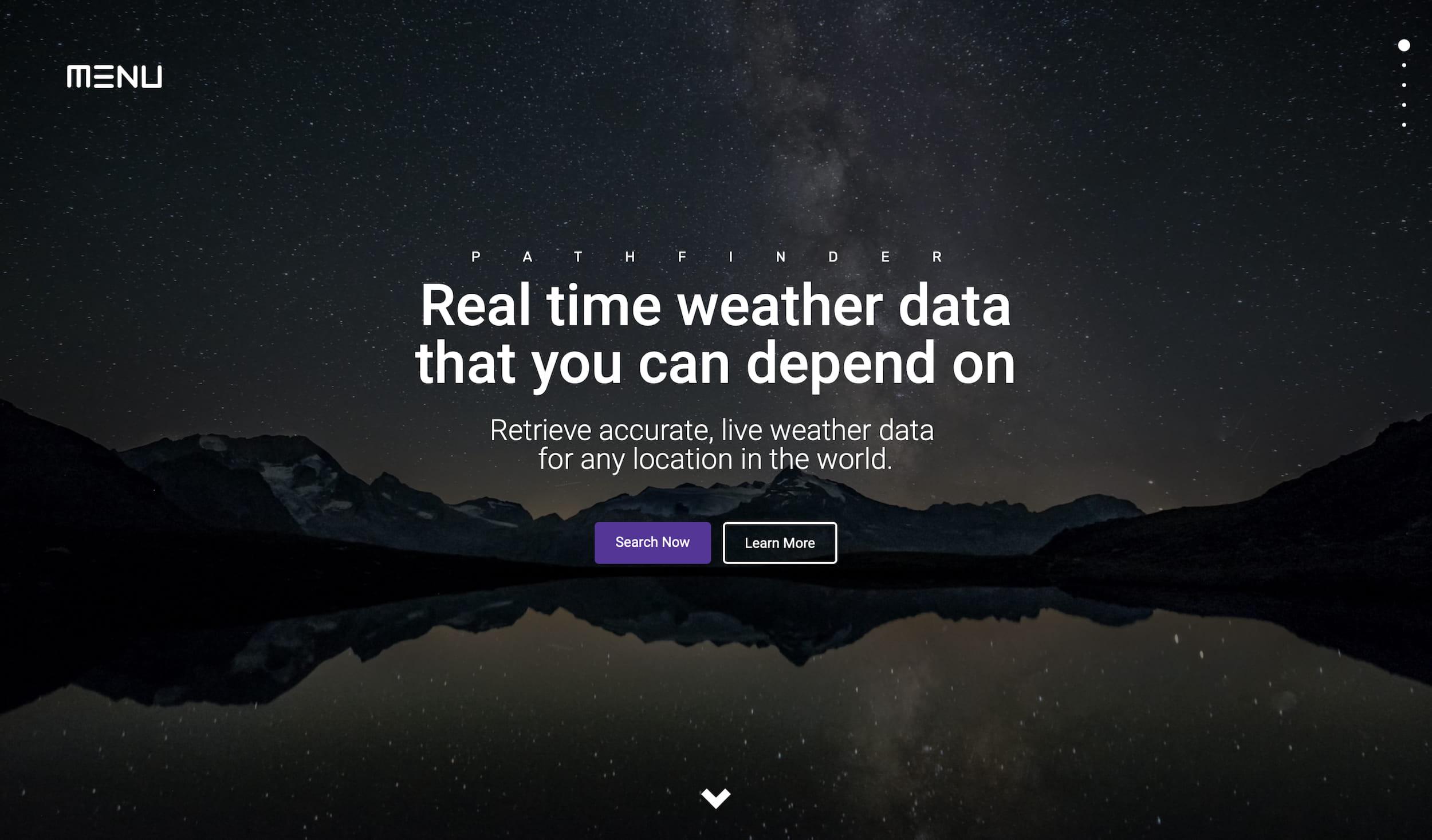 Pathfinder Weather