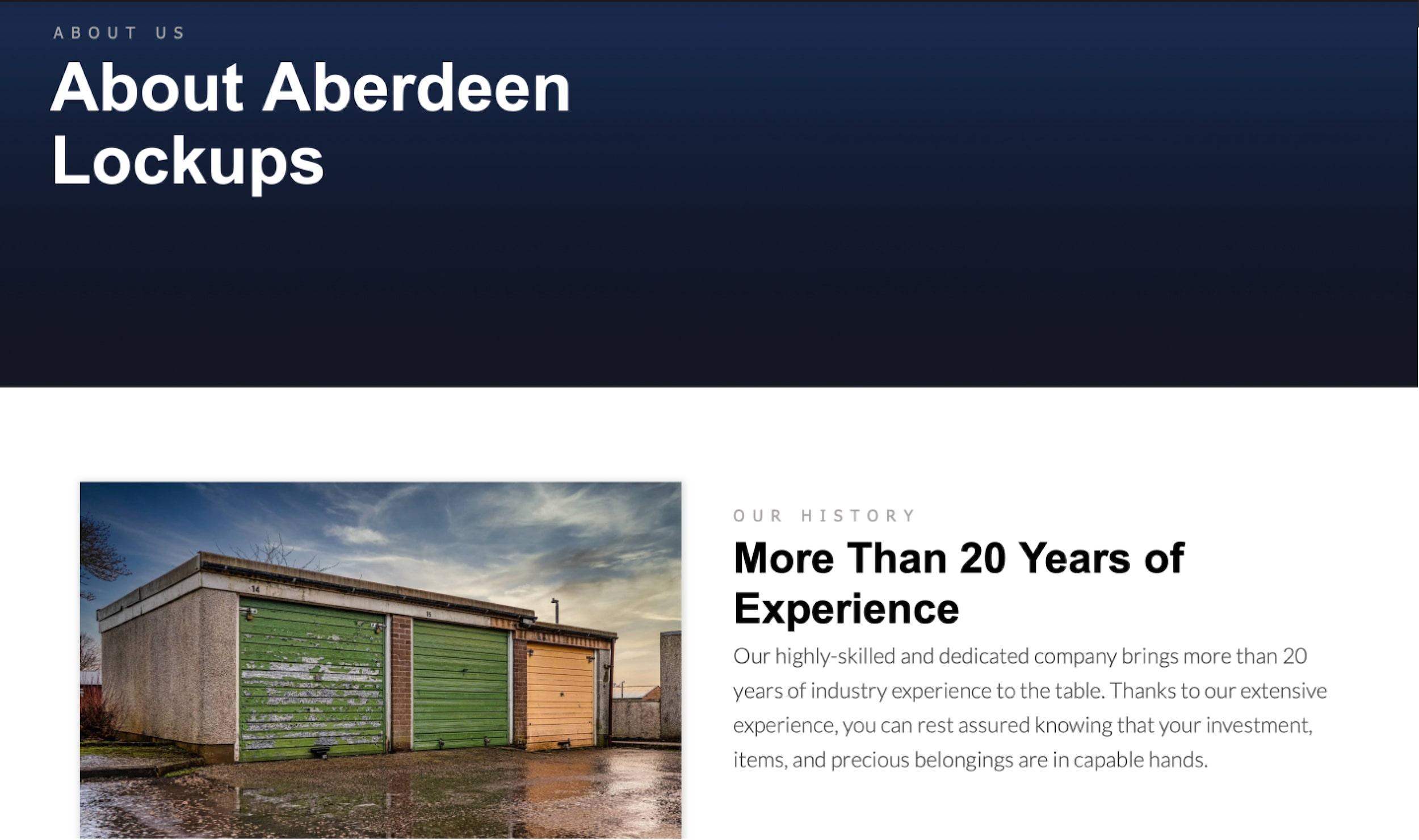 Aberdeen Lockups
