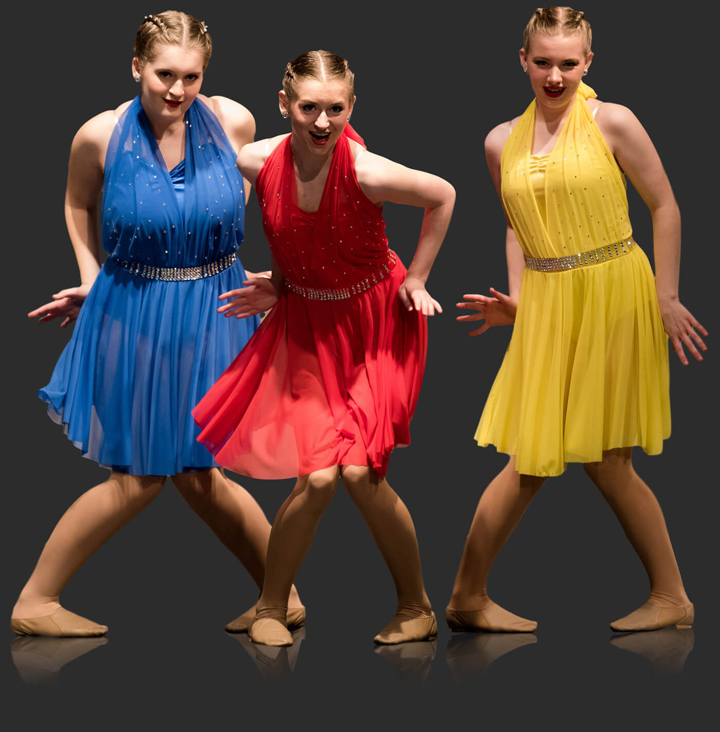 Musical theatre dancers