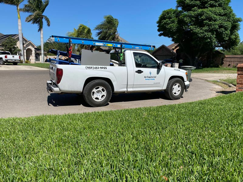 Air Experts LLC Heating and Cooling truck