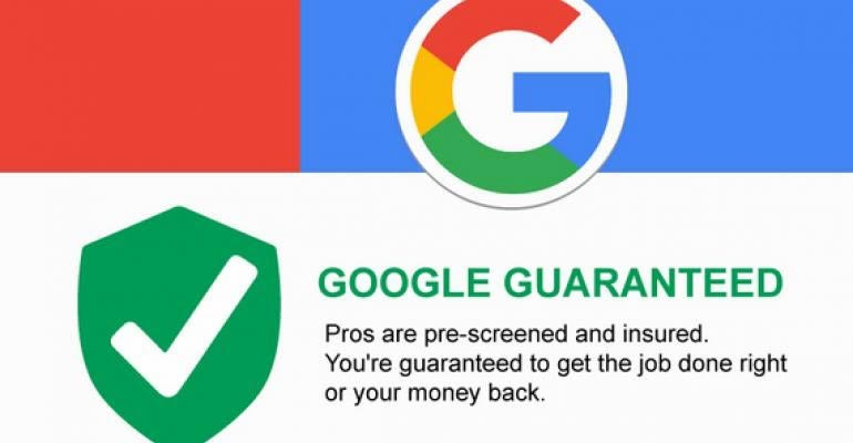 We are google guaranteed
