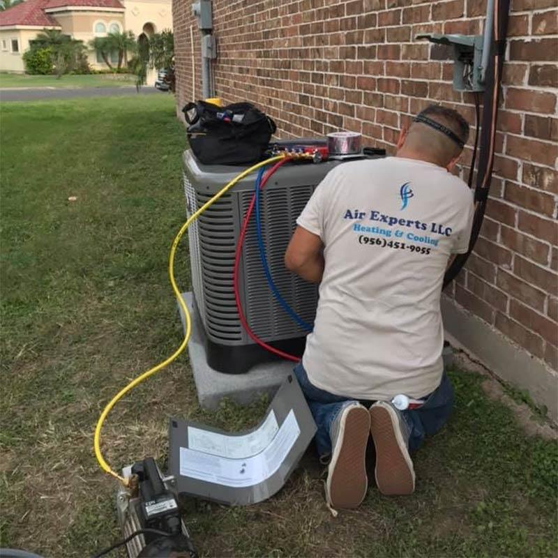 Air conditioning installation in McAllen, TX