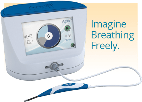 VIVAER option for breathing freely with 88% overall patient satisfaction