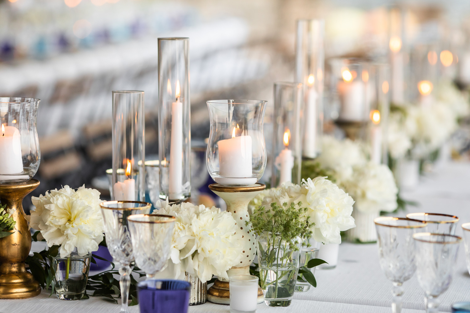 Using candles as decoration can make your wedding even more romantic. Get the perfect romantic lighting for your wedding with our range of candles.