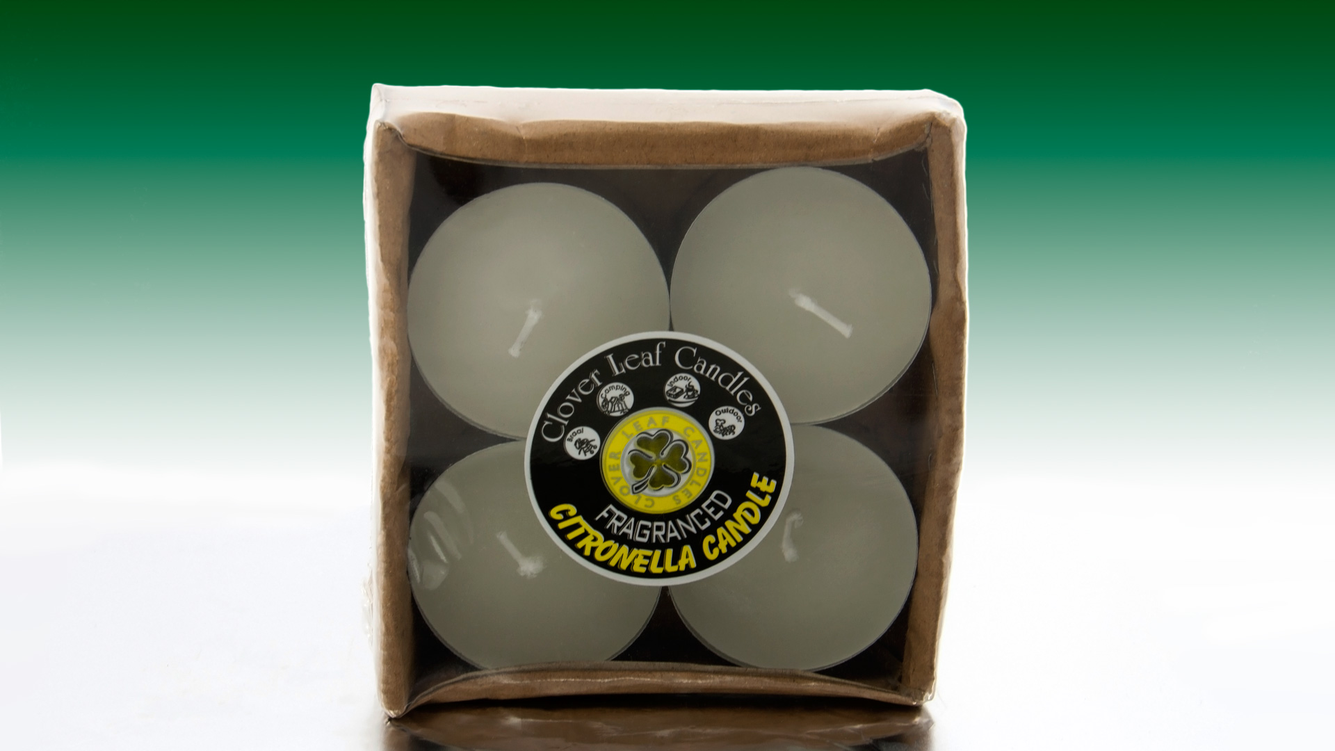 Our Citronella candles are infused with pure and natural citronella oil and are used as a safe and effective insect repellent. *Please note that there are no color options available on citronella candles.