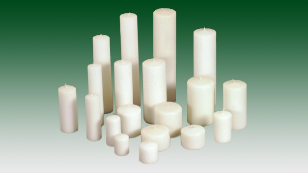 Clover Leaf Candles offers quality hand-poured, long-burning pillar candles for all religious, restaurant and wholesale purposes.