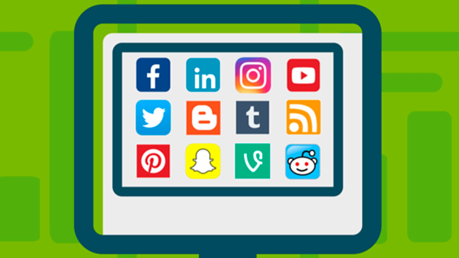 Входящая и исходящая связь с социальными сетями