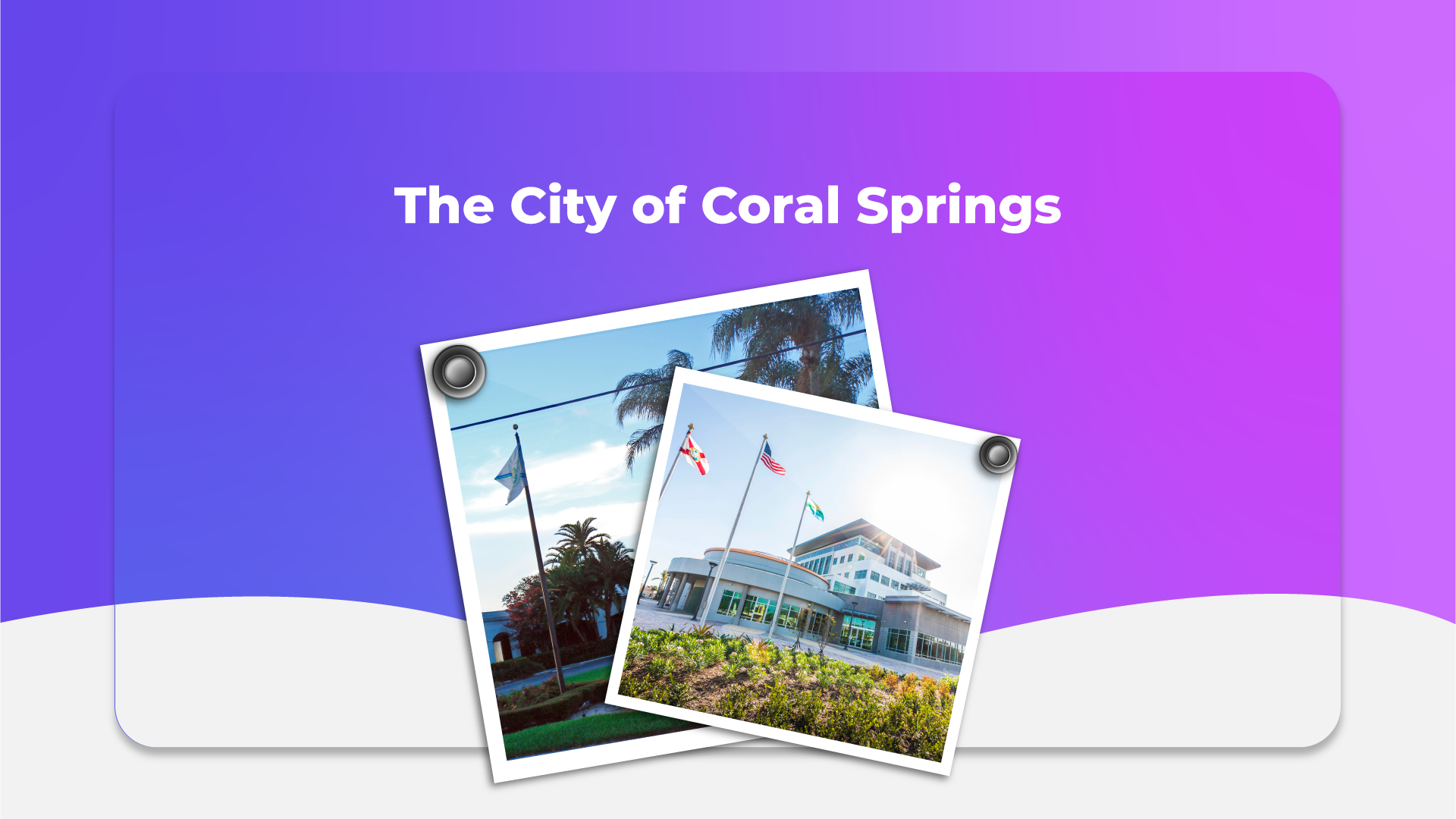 The City of Coral Springs