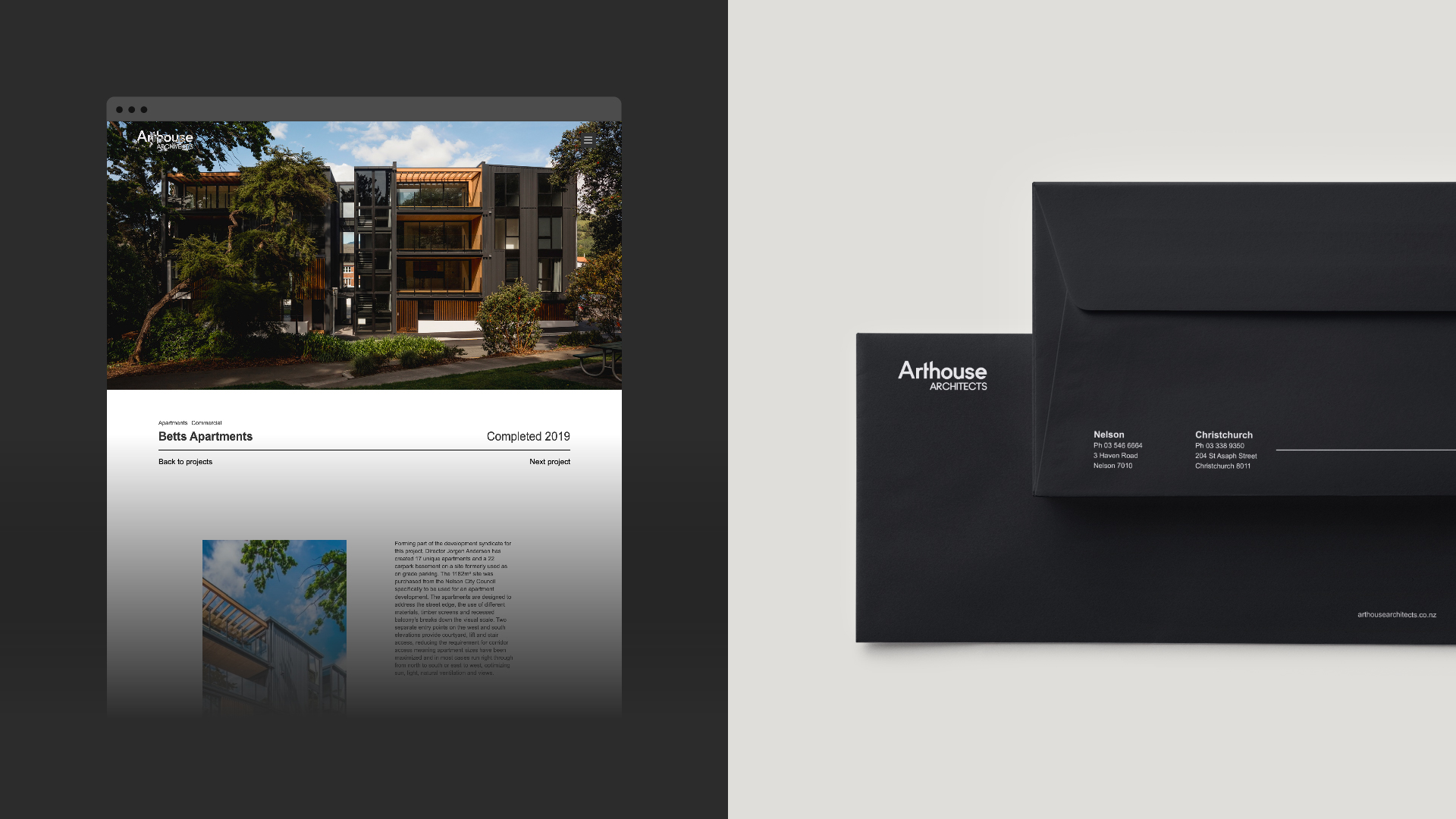 attraction studio arthouse architects brand web arthouse project