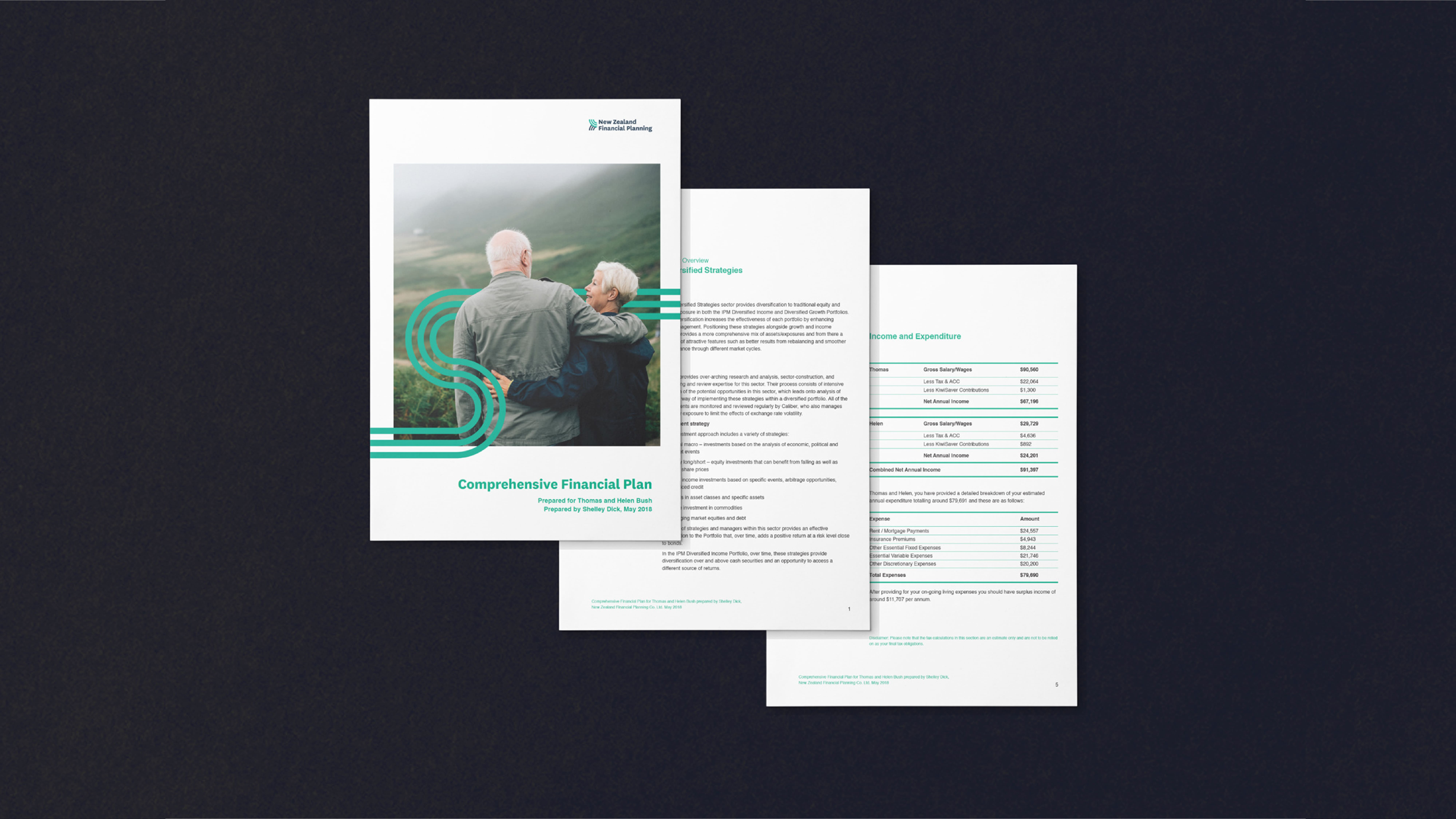 attraction studio new zealand financial planning project document