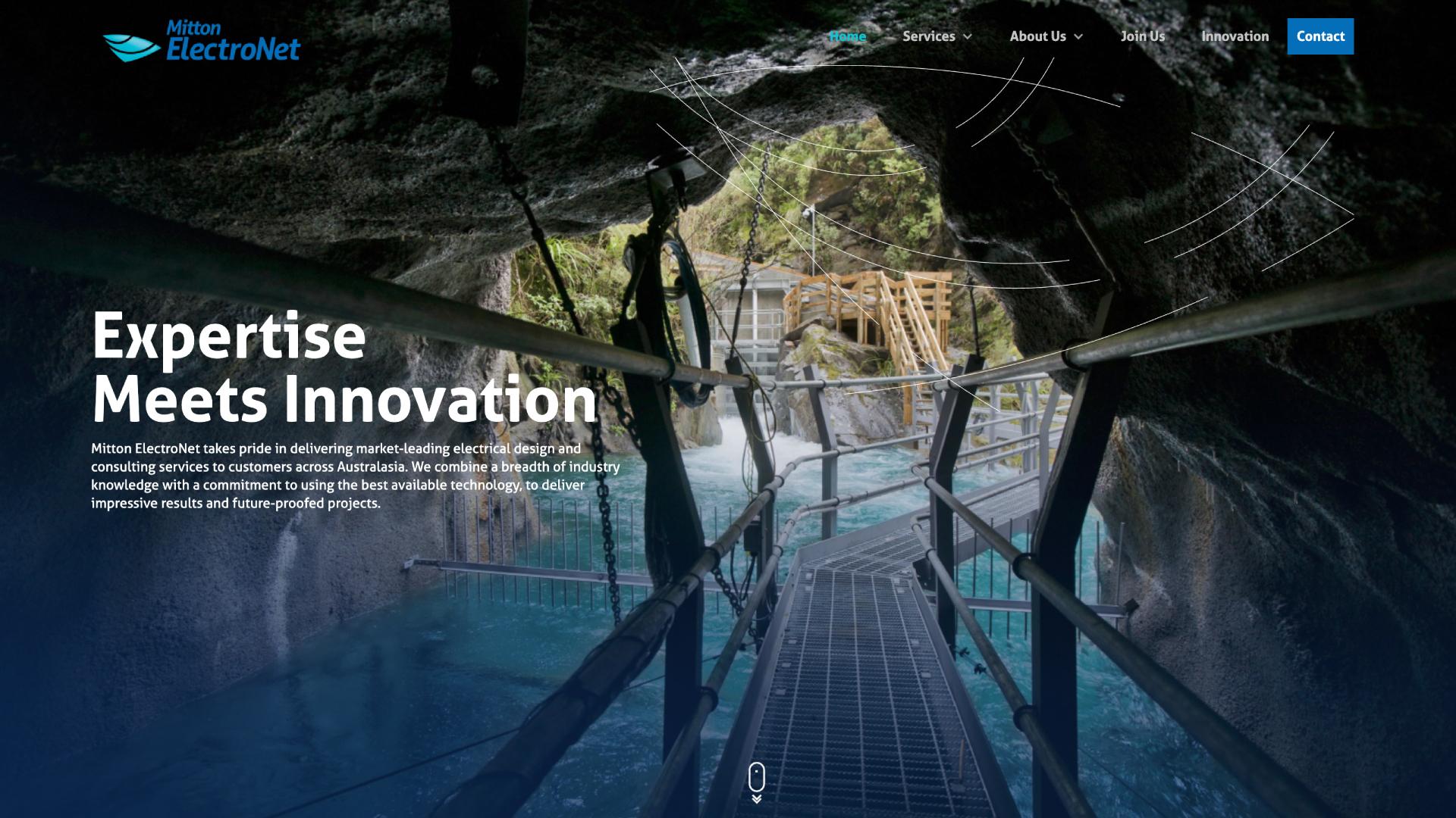 attraction studio mitton electronet web desktop landing page