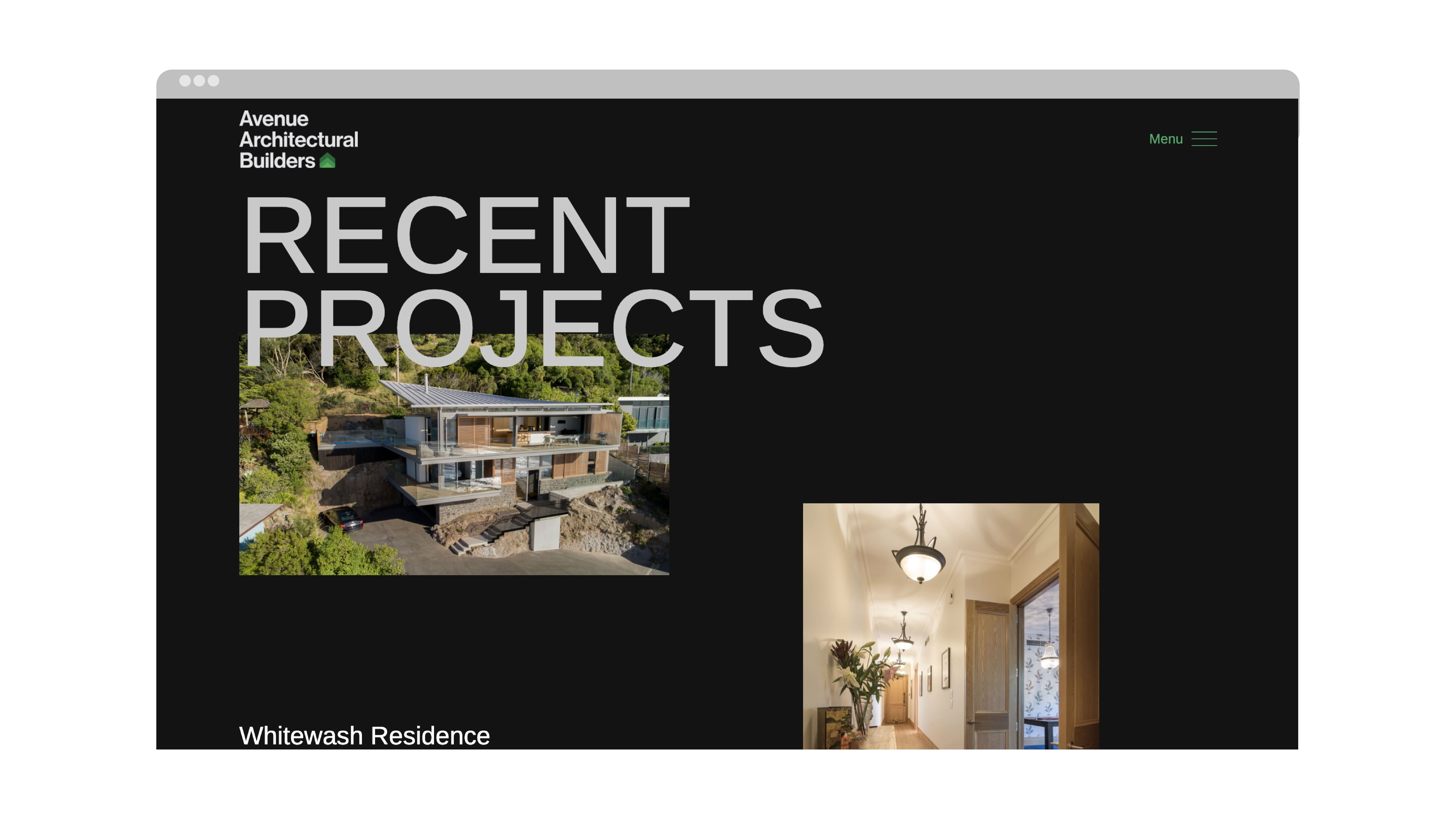 attraction studio avenue architectural brand web website recent projects