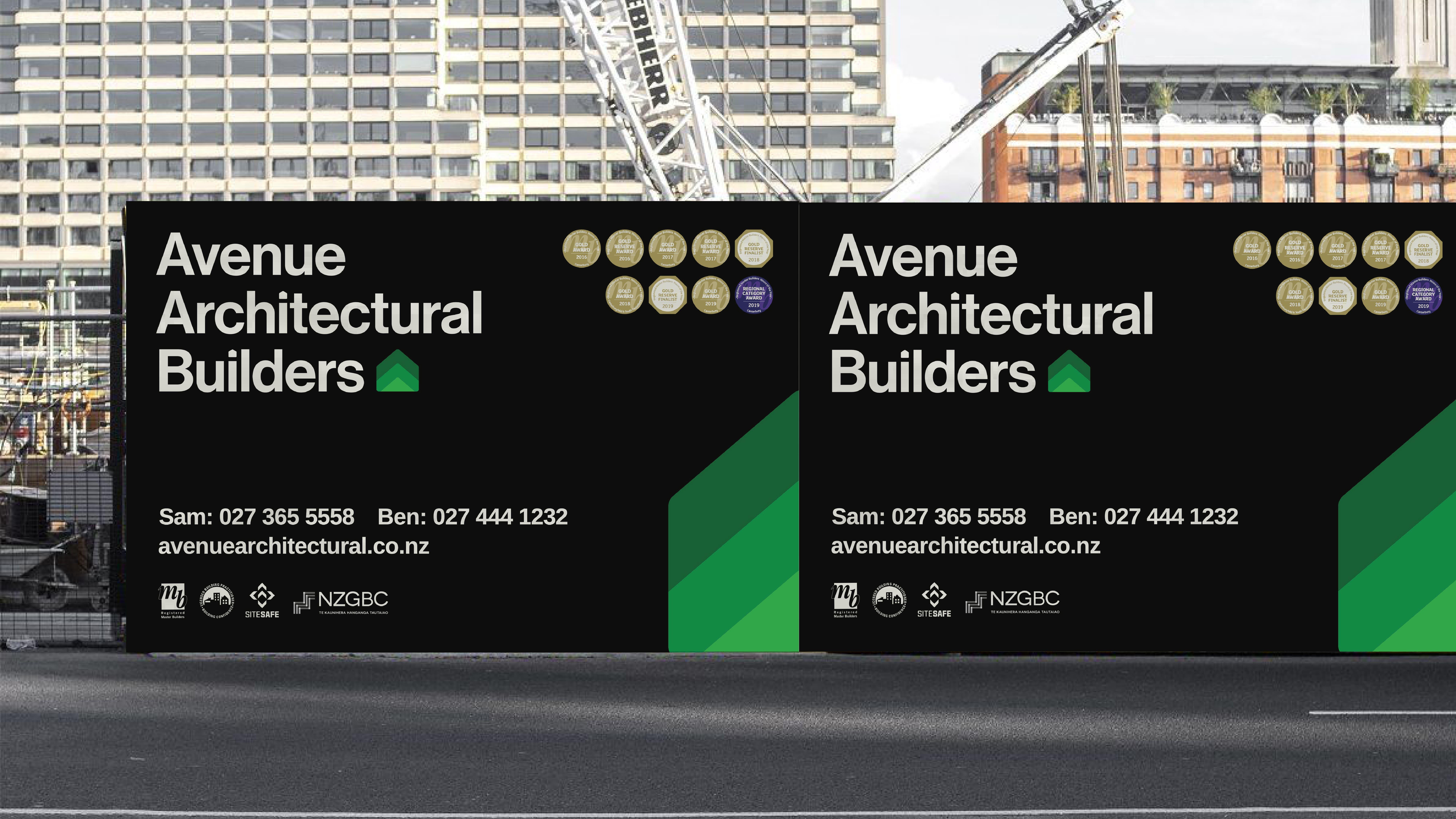 attraction studio avenue architectural brand web environmental signage
