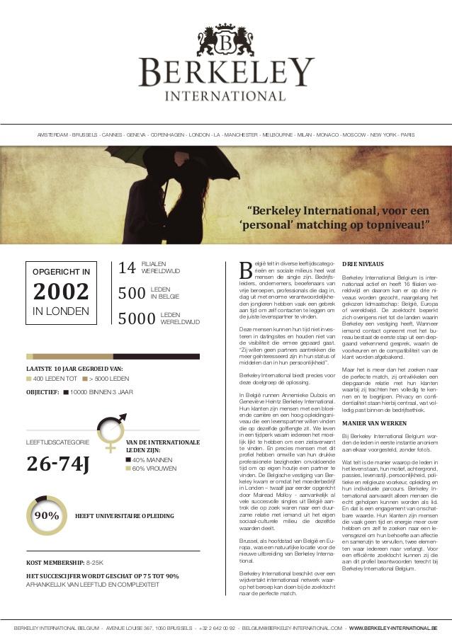 Relatiebureau Berkeley International in Trends - International Business - Belgium conquers the world