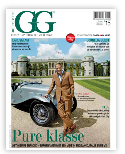 Le magazine GG de Engel&Volkers parle des Lovehunters de Berkeley International.