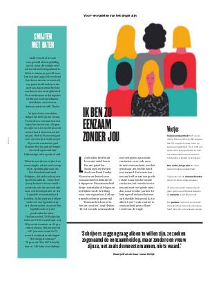 Berkeley International in De Morgen Magazine: de voor- en nadelen van het single zijn.