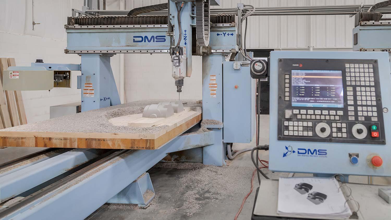 Cascade Pattern - CNC Capabilities
