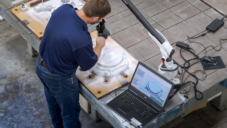 Cascade Pattern - Laser Scanning