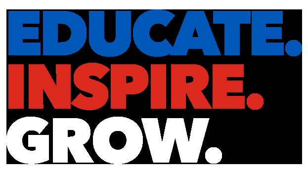 Educate. Inspire. Grow.